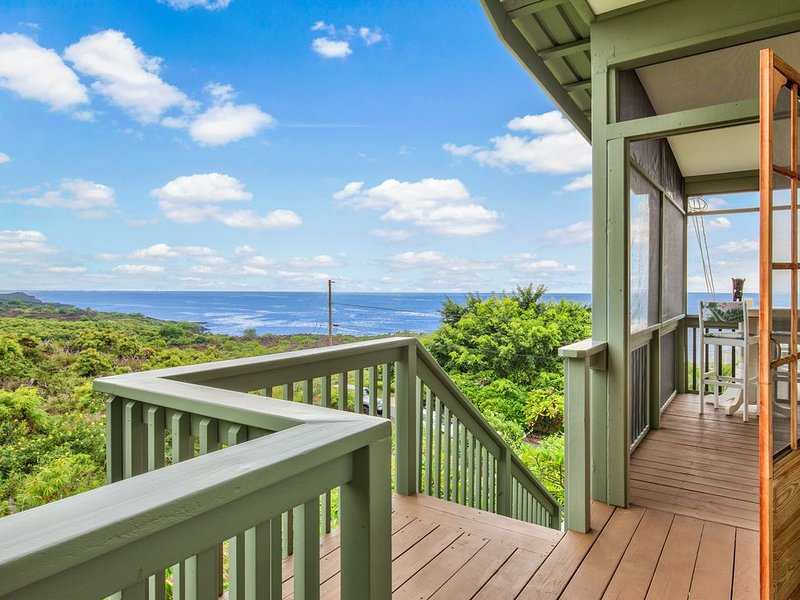 180 Degree Ocean View! Steps to Beach! from $149/Night + Fees!, alquiler de vacaciones en Milolii