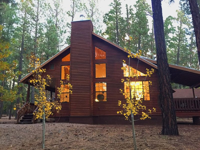 Luxury Cabin Retreat on Spacious Wooded Lot, location de vacances à Vernon