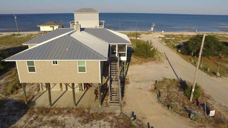 Alligator/Bald Point Florida Beach View Pet Friendly Rental, alquiler vacacional en Panacea