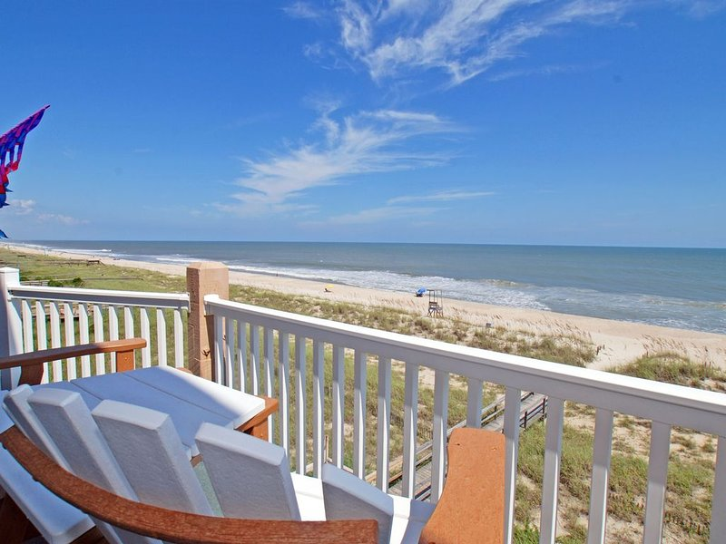 Breathtaking Oceanfront Views From Pier To Pier, alquiler vacacional en Carolina Beach