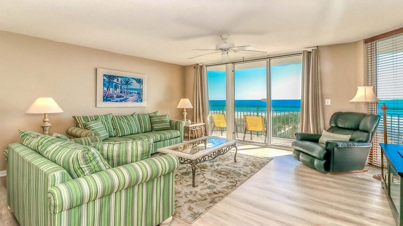 panoramic incredible view 4Br/3Ba Oceanfront Condo unit 201 at Windy Hill Dunes, holiday rental in North Myrtle Beach