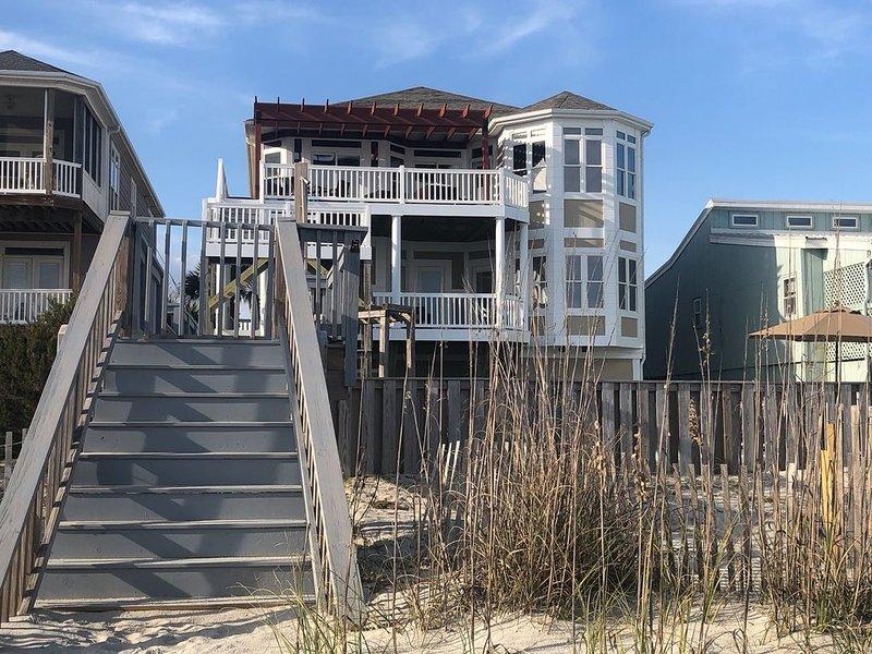 Vista lateral playa