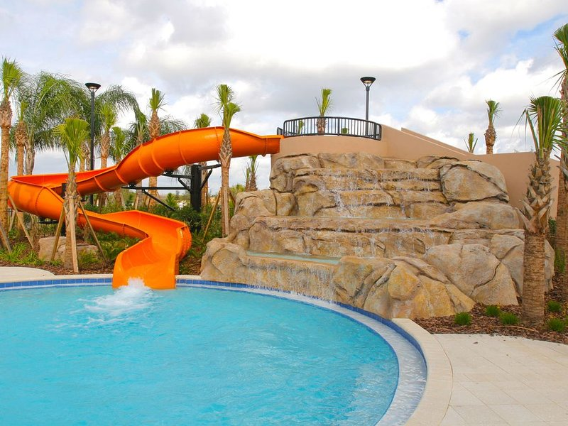 Solterra Main Clubhouse Pool - waterslide
