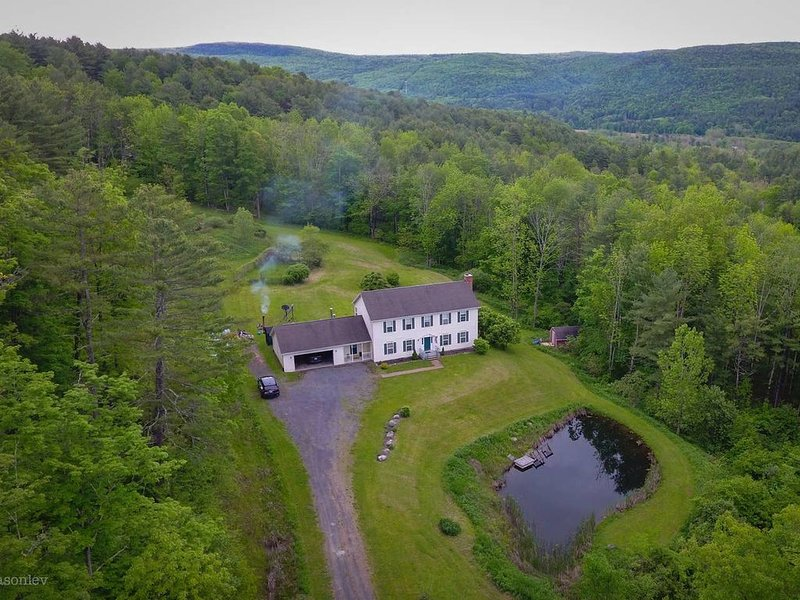 Spacious, charming Catskills getaway-lovely in Fall, short drive to ski resorts, vacation rental in Gallupville