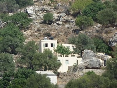 House With Amazing Views Over The Libyan Sea In Unspoilt Area Of Crete, holiday rental in Frangokastello