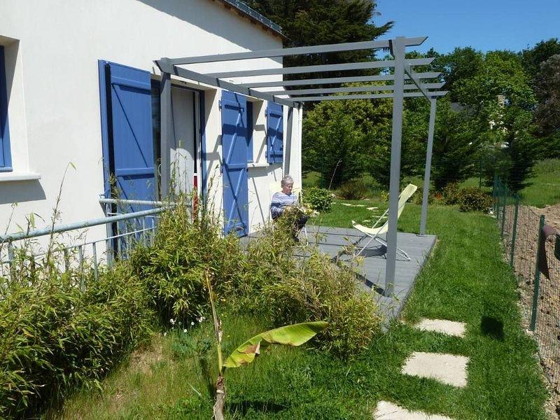 Sarzeau: Le Logeo dans le Golfe du Morbihan port et plage à pieds, casa vacanza a Sarzeau