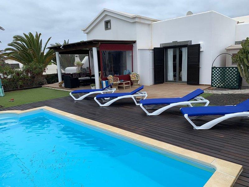 Villa Darling Residencial La Goleta, alquiler de vacaciones en Yaiza