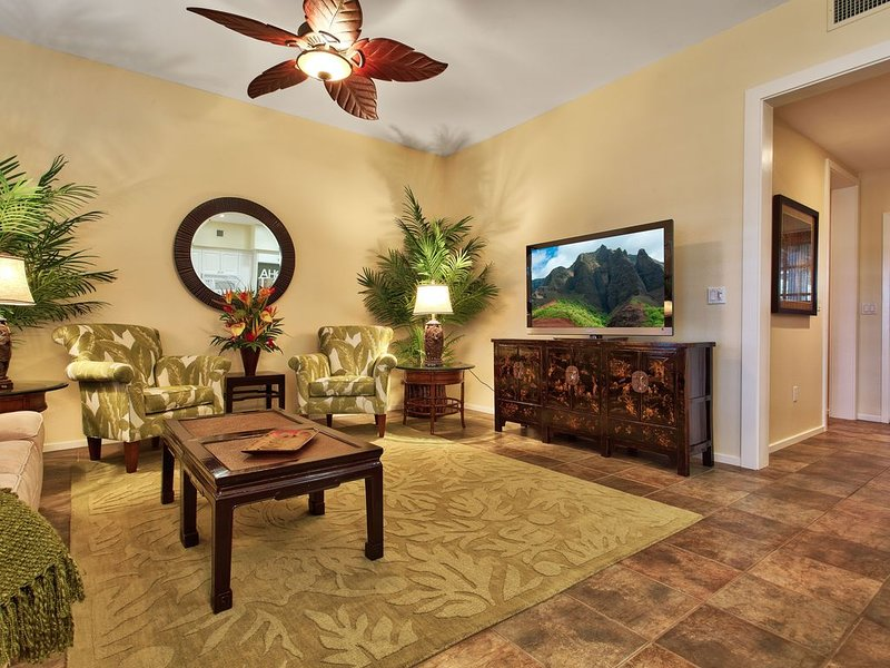 KO OLINA LUXURY RENTAL!  GROUND FLOOR - GOLF CART AVAILABLE!!, location de vacances à Kapolei