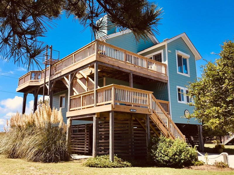 Chillin' Ri' Cheer in South Nags Head with the classic charm of the Outer Banks, alquiler de vacaciones en Nags Head