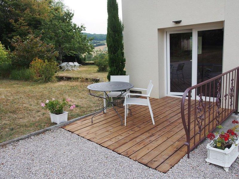 Quiétude et Verdure au coeur du Jura, location de vacances à Baume-les-Messieurs