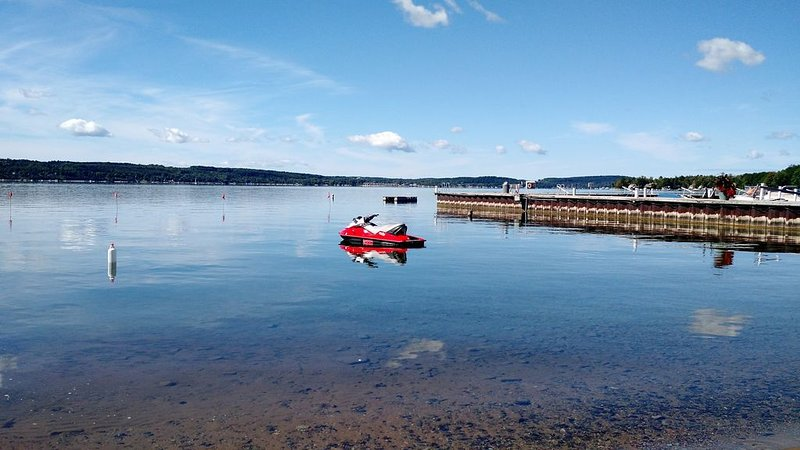 Lakefront 2BR Condo on Lake Charlevoix, holiday rental in Walloon Lake
