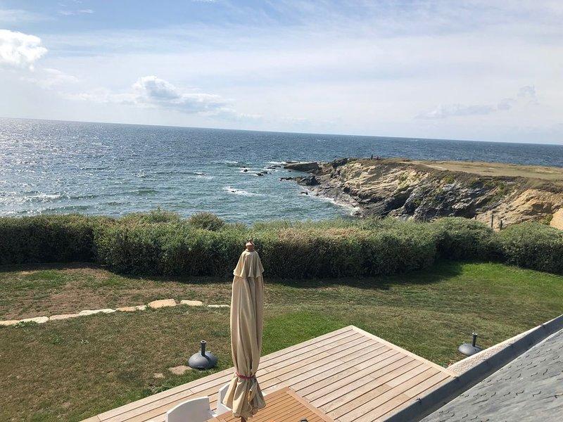 Villa vue mer exceptionnelle à 180°, location de vacances à Piriac-sur-Mer