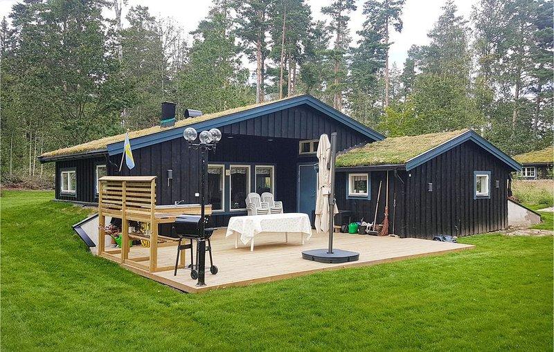 3 Zimmer Unterkunft in Ydre, aluguéis de temporada em Bjarkeryd
