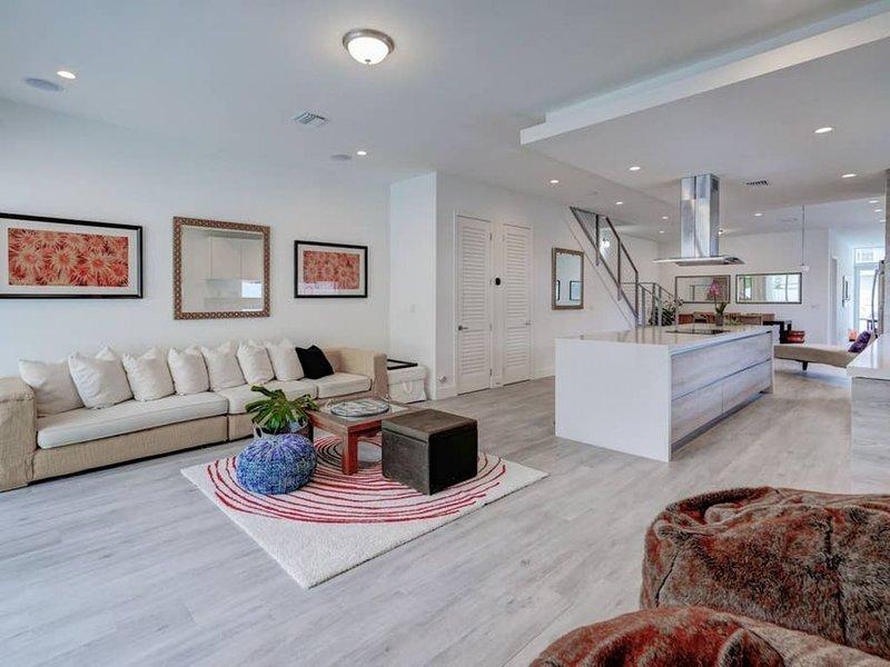 Sala de estar en el primer piso
