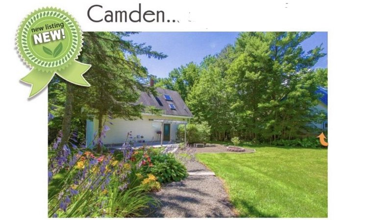 Private in-town Camden cottage!, holiday rental in Camden