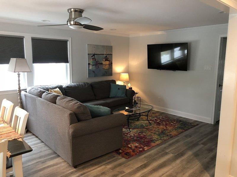"""Sleeper sofa. 55"""" TV"""