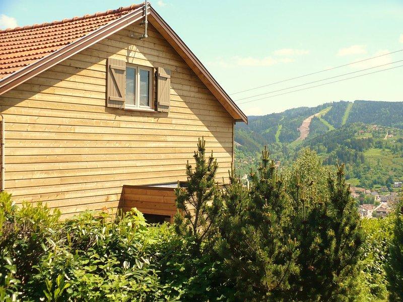 Superb in Gerardmer - Panoramic valley and ski slopes - 8 people, alquiler de vacaciones en Gerardmer