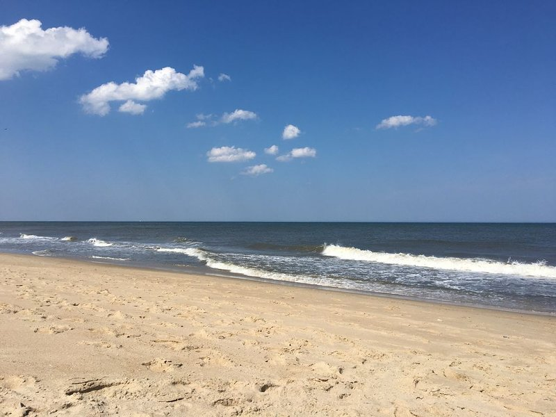 June + Sept open! Oceanfront - See and Hear the Sea from Delightful Beach House!, location de vacances à Dewey Beach
