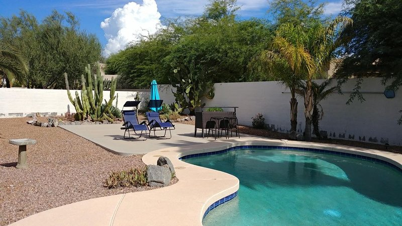 Sparkling Pool, Stunning Views & Sunshine, vacation rental in Gold Canyon