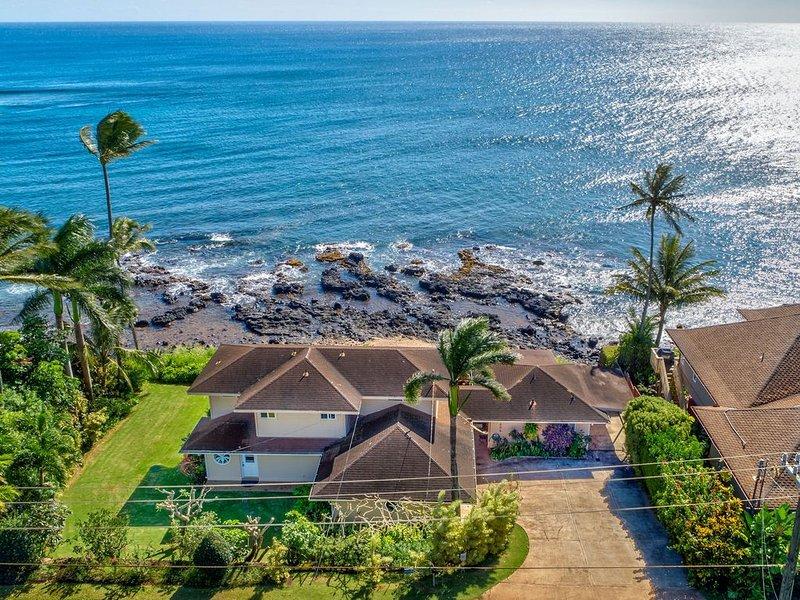 Kahalekai - Best Value Oceanfront Home in Sunny Poipu, alquiler vacacional en Kekaha