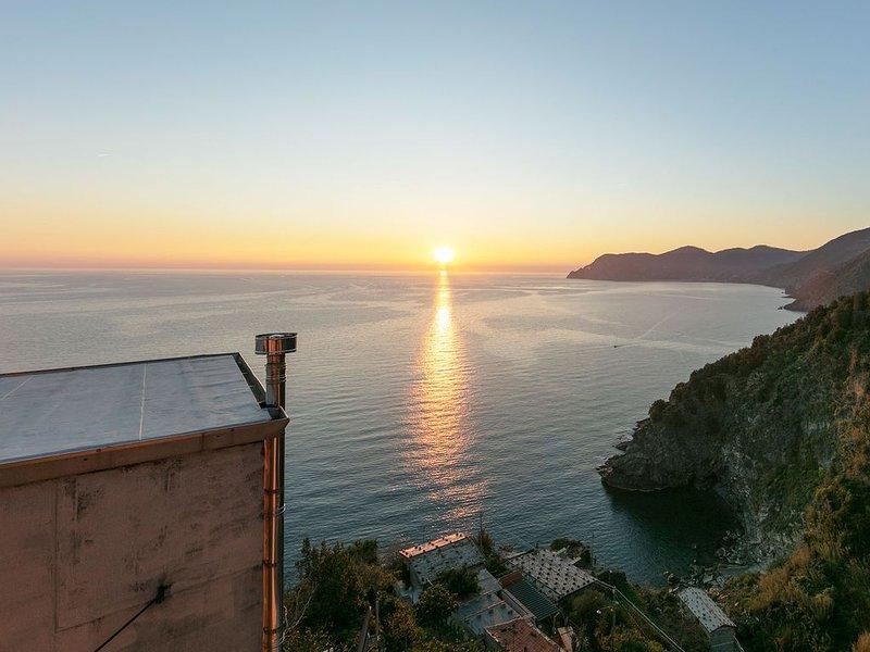 Camera doppia vista mare, holiday rental in Corniglia