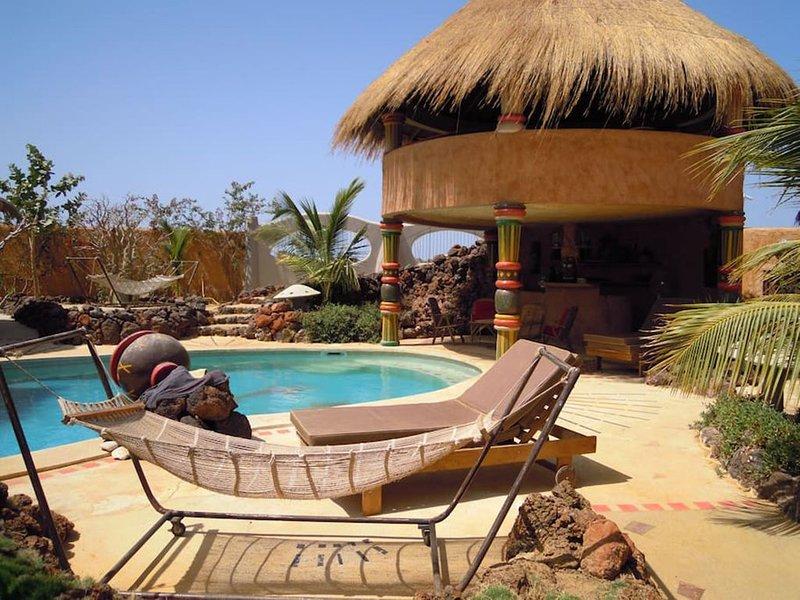 Endroit magique au bord de la lagune, vacation rental in La Petite Cote
