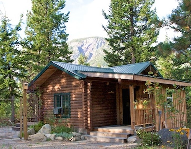 Rocky Top - Cute and Cozy Log Cabin, holiday rental in Mazama