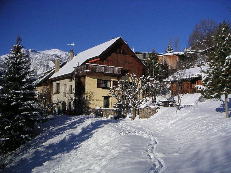 Location saisonnière maison de pays à Serre Chevalier, holiday rental in La Salle les Alpes