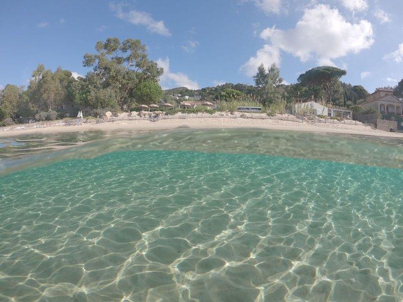 - Appartement dans Villa sur la plage, alquiler vacacional en Le Lavandou