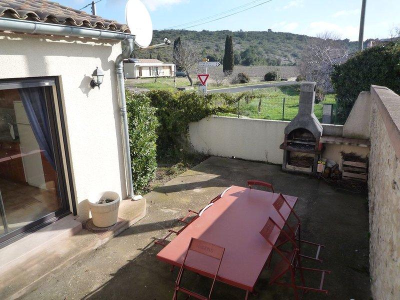 Gîte Vigneron au hameau de Villemagne, holiday rental in Villetritouls