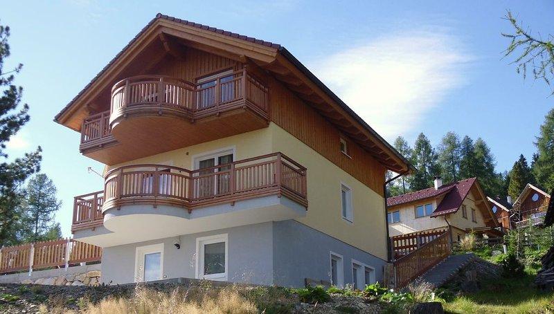 HAUS ALEXANDER 2 HOCHRINDL, holiday rental in Sirnitz-Sonnseite