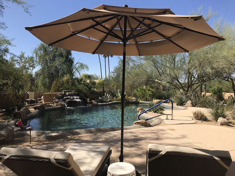 Private Contemporary Adobe N. Scottsdale Golf Central, Resort Style Pool&Misters, Ferienwohnung in Carefree