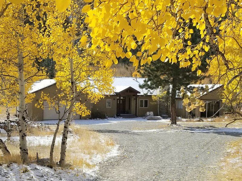 Chalk Creek Meadows/Borders National Forest and Chalk Creek, casa vacanza a Nathrop