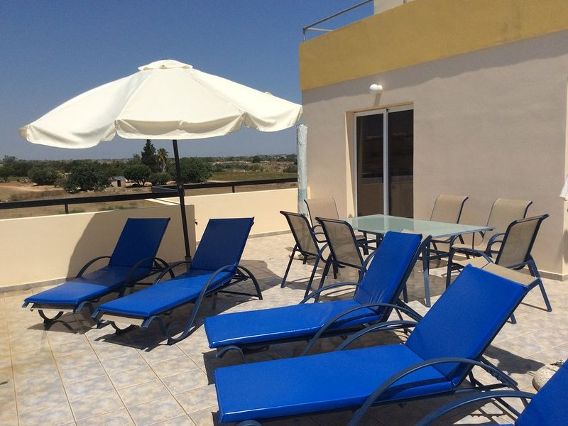 Cyprus Penthouse Apartment, holiday rental in Dherinia
