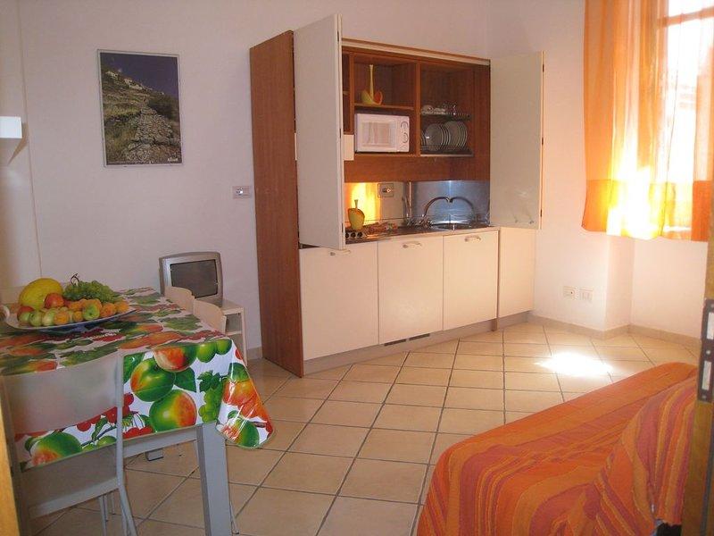EOLIE Lipari- Canneto gradevole Monolocale 30 m dalla spiaggia, holiday rental in Panarea