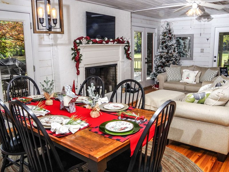 Farmhouse on Coosa Creek, holiday rental in Blairsville