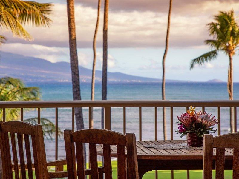 Maui Prime Oceanfront, Remodel, King Beds! *Maalaea Kai 307*, Ferienwohnung in Wailuku