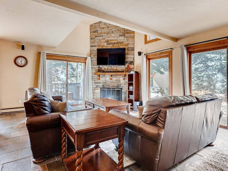Pay For 4 Bedrooms Get The 5th FREE, 5 Min WALK TO VAIL BUS, PRIVATE HOT TUB, holiday rental in Vail