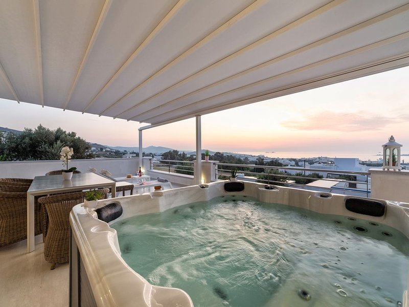 Luxury Villa Sunset View, holiday rental in Agios Charalampos
