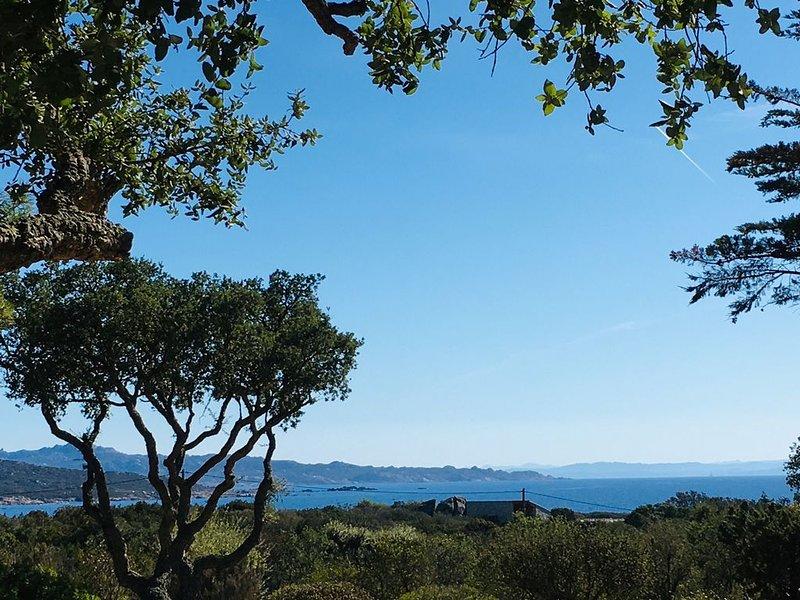 Plage à pied, vue panoramique, holiday rental in Pianottoli-Caldarello