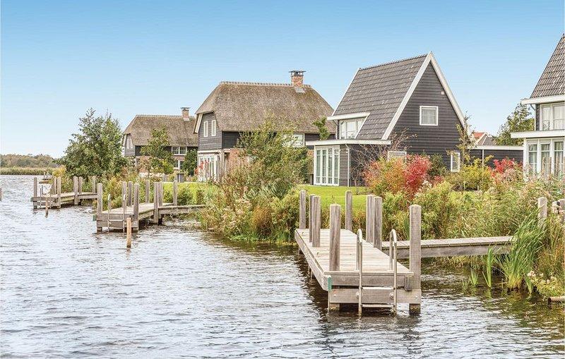 3 Zimmer Unterkunft in Giethoorn, vacation rental in Overijssel Province