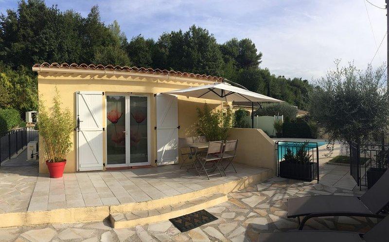 location saisonnière et week-end, holiday rental in La Gaude