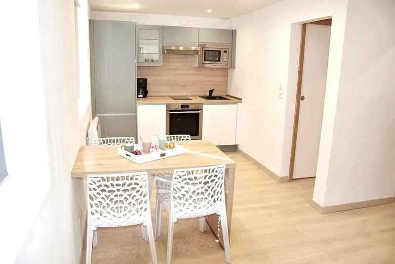 Bel appartement situé quartier Louvre-Bollaert, holiday rental in Courrieres