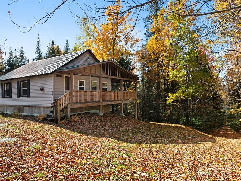 Friendly cabin near tons of outdoor activities! Walk to the lake, 2 dogs OK!, aluguéis de temporada em Kokadjo