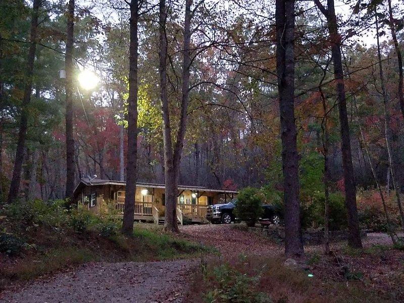 Grandma's Mountain Cabin, alquiler de vacaciones en Bat Cave
