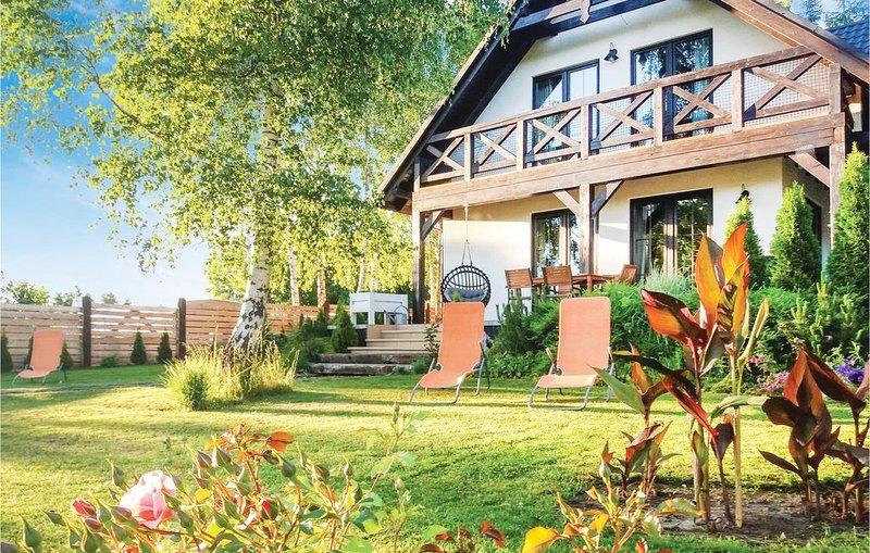 3 Zimmer Unterkunft in Kolczewo, casa vacanza a Miedzyzdroje