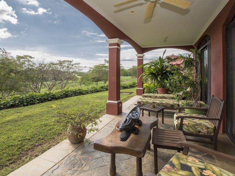 Beautiful Luxury Reserva Conchal Ocean View Condo Terrace 3 Bedroom, holiday rental in Puerto Viejo