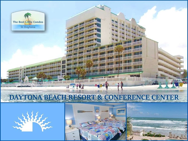 ALL NEW - DIRECT OCEANFRONT, holiday rental in Daytona Beach