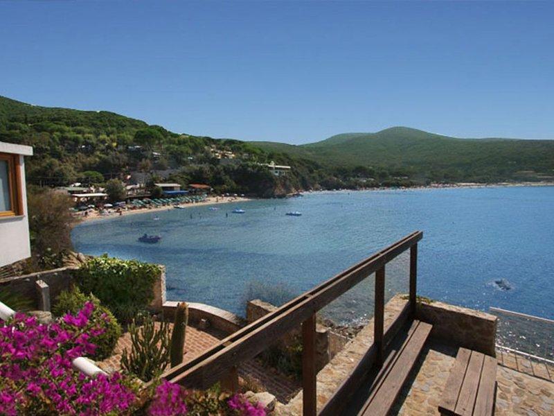 Fantastic Waterfront Villa with terrific seaviews over an enchanting sandy beach, holiday rental in Biodola
