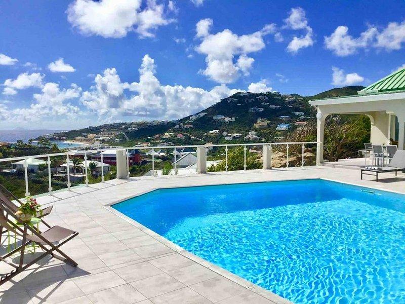 Panorama de rêve sur l'océan V2, aluguéis de temporada em Quartier D'Orleans